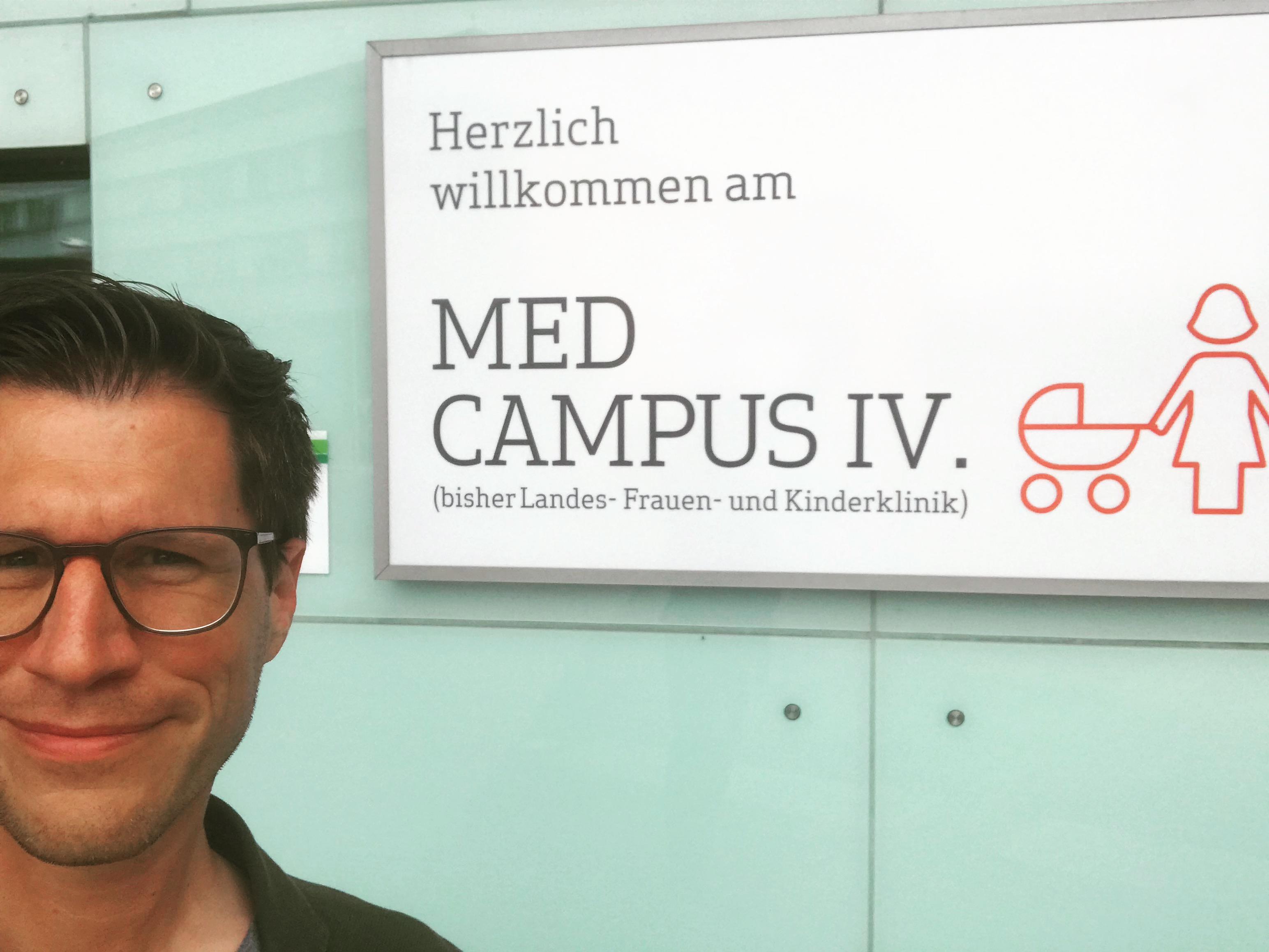 Kumplgut präsentiert sich am MED Campus Linz