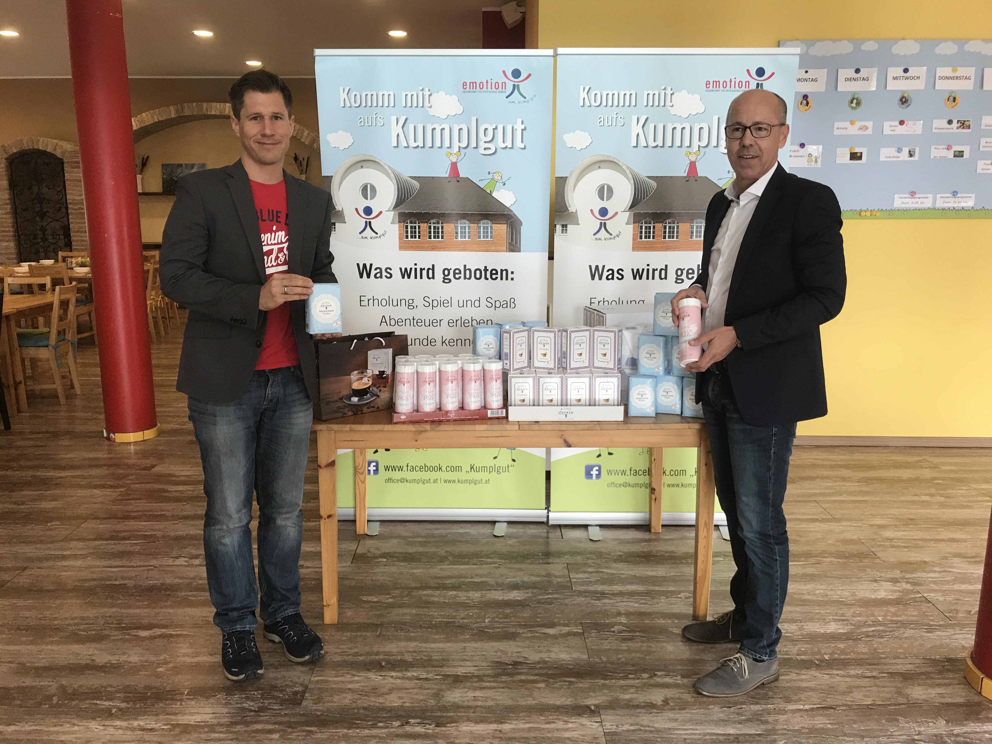 AGRANA Wiener Zucker unterstützt unseren Kekserlmarkt